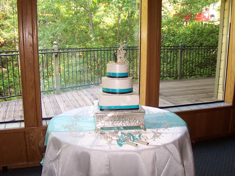 nevada city ca hotel wedding cake