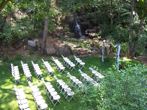 nevada city ca hotel outdoor wedding