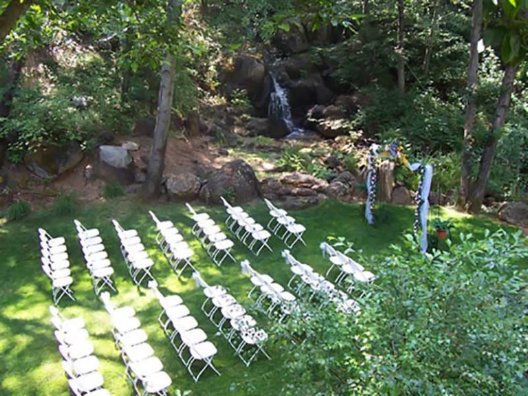 Outdoor Wedding Space Nevada City CA