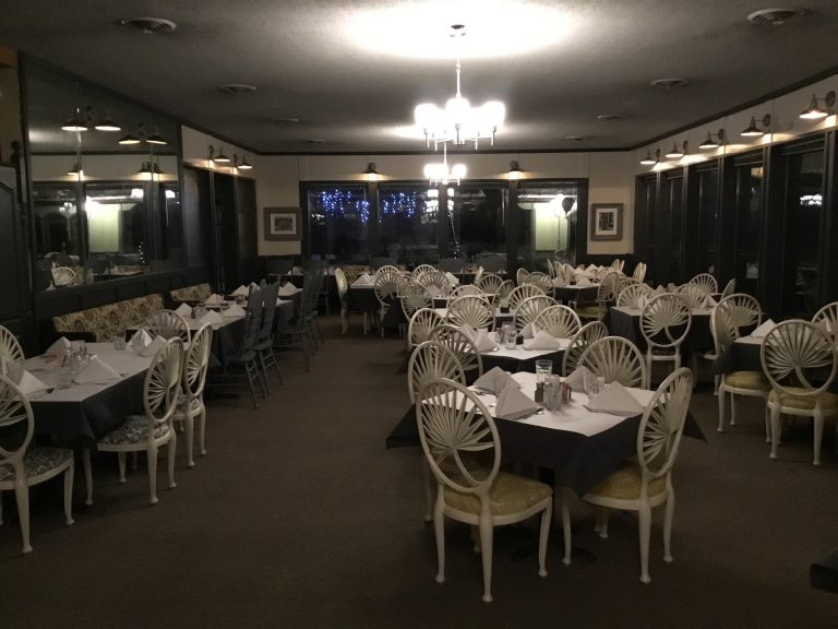 Our dining room can seat up to 100 guests