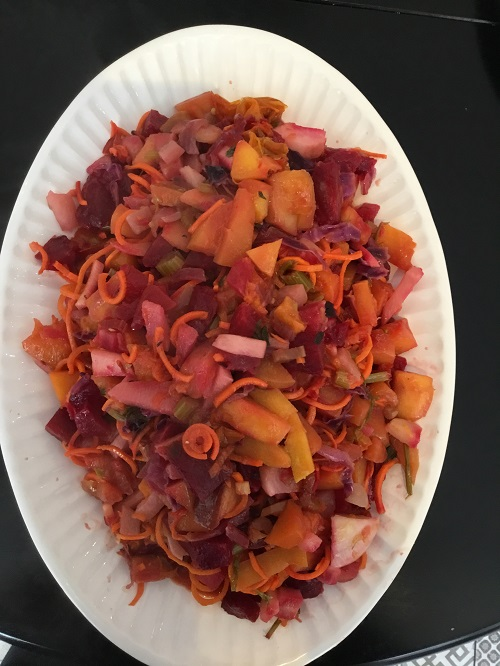 Butternut Squash, Roasted Beet Salad